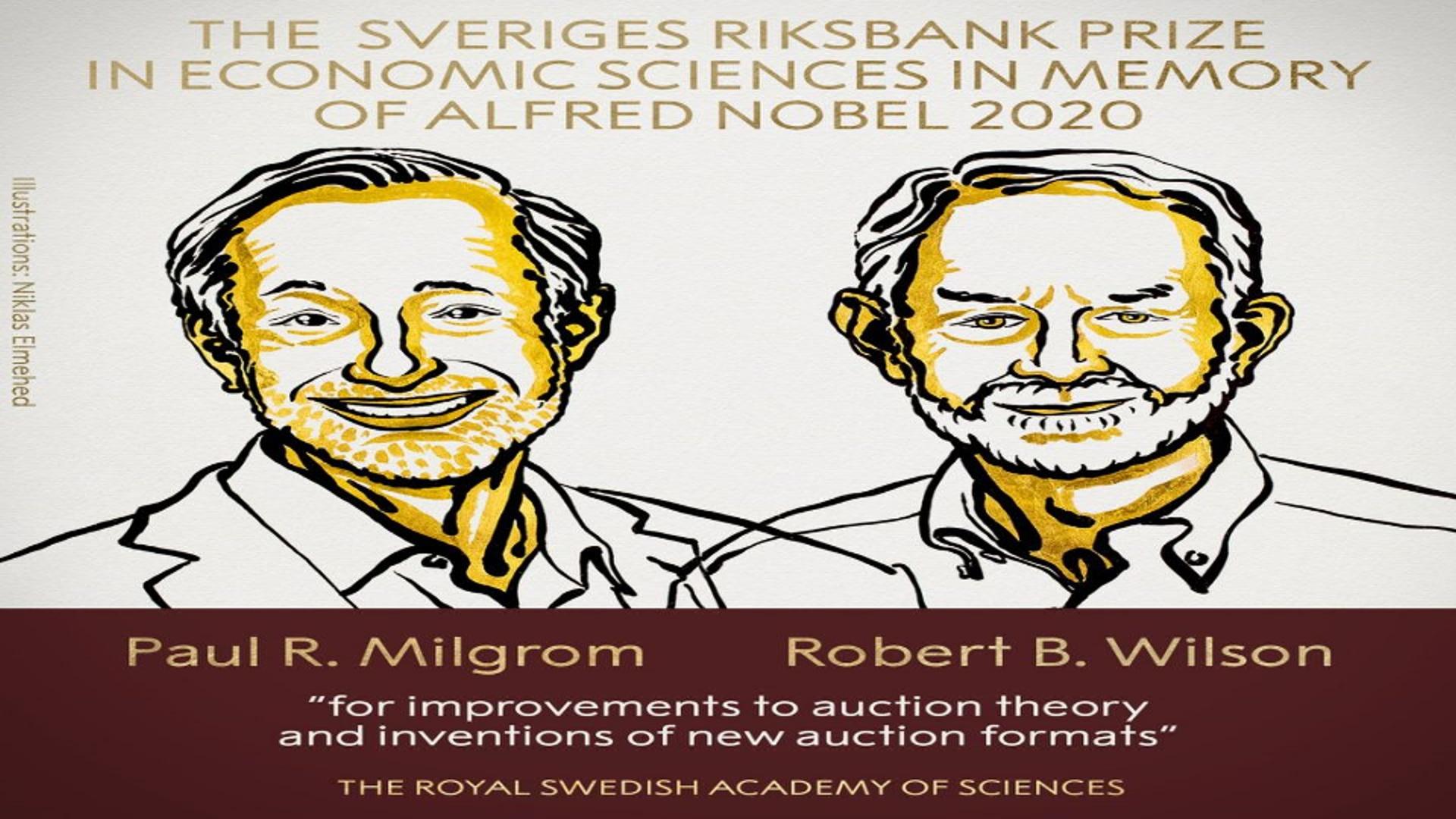 2020-ci il üzrə İqtisadiyyat sahəsində Nobel mükafatı laureatlarının adları açıqlanıb