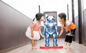 Orta məktəbdə test robotları işə başlayıb