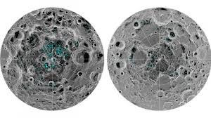 Ayın səthində donmuş su aşkarlanıb