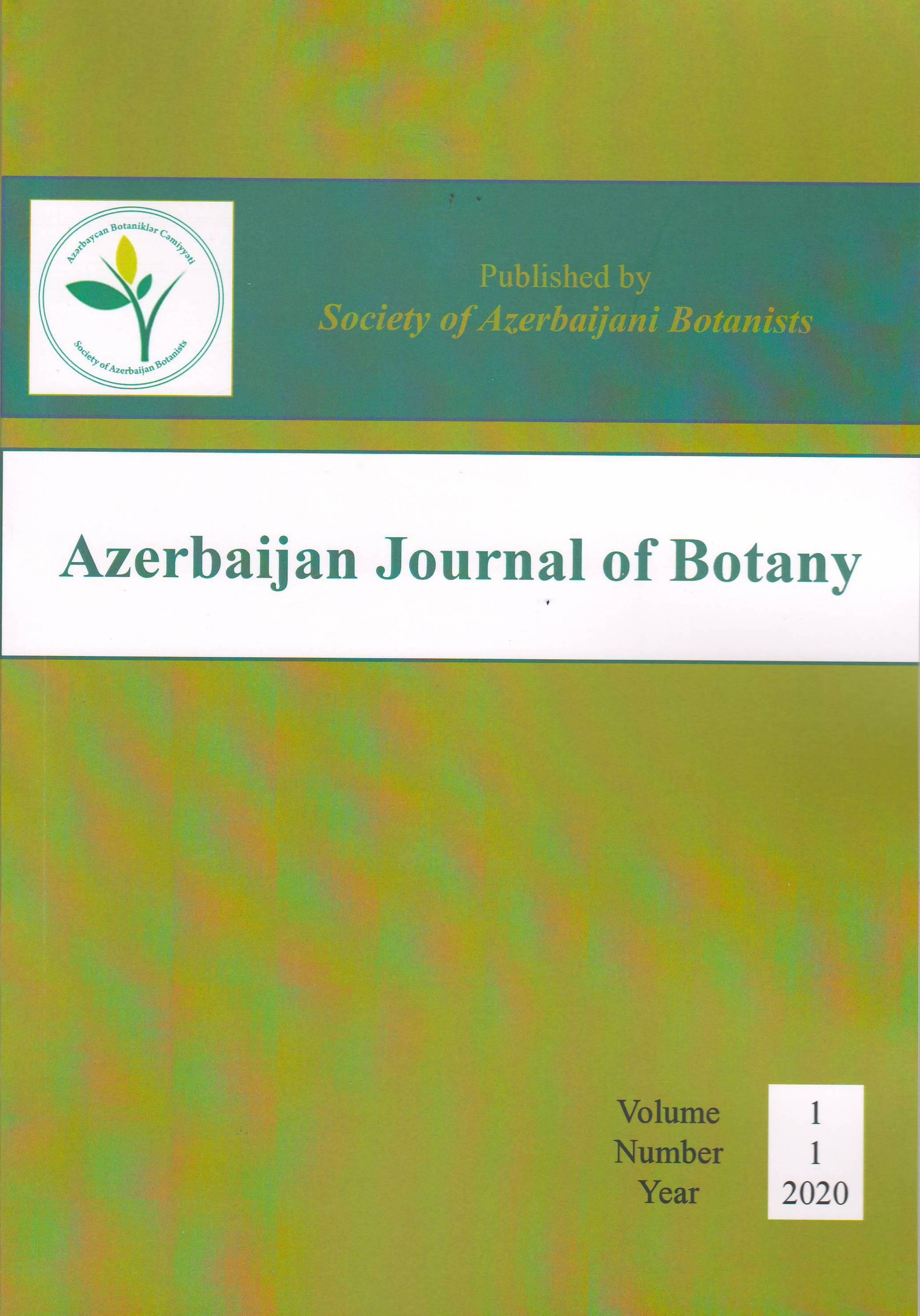 """""""Azerbaijan Journal of Botany"""" jurnalının ilk nömrəsi çapdan çıxıb"""