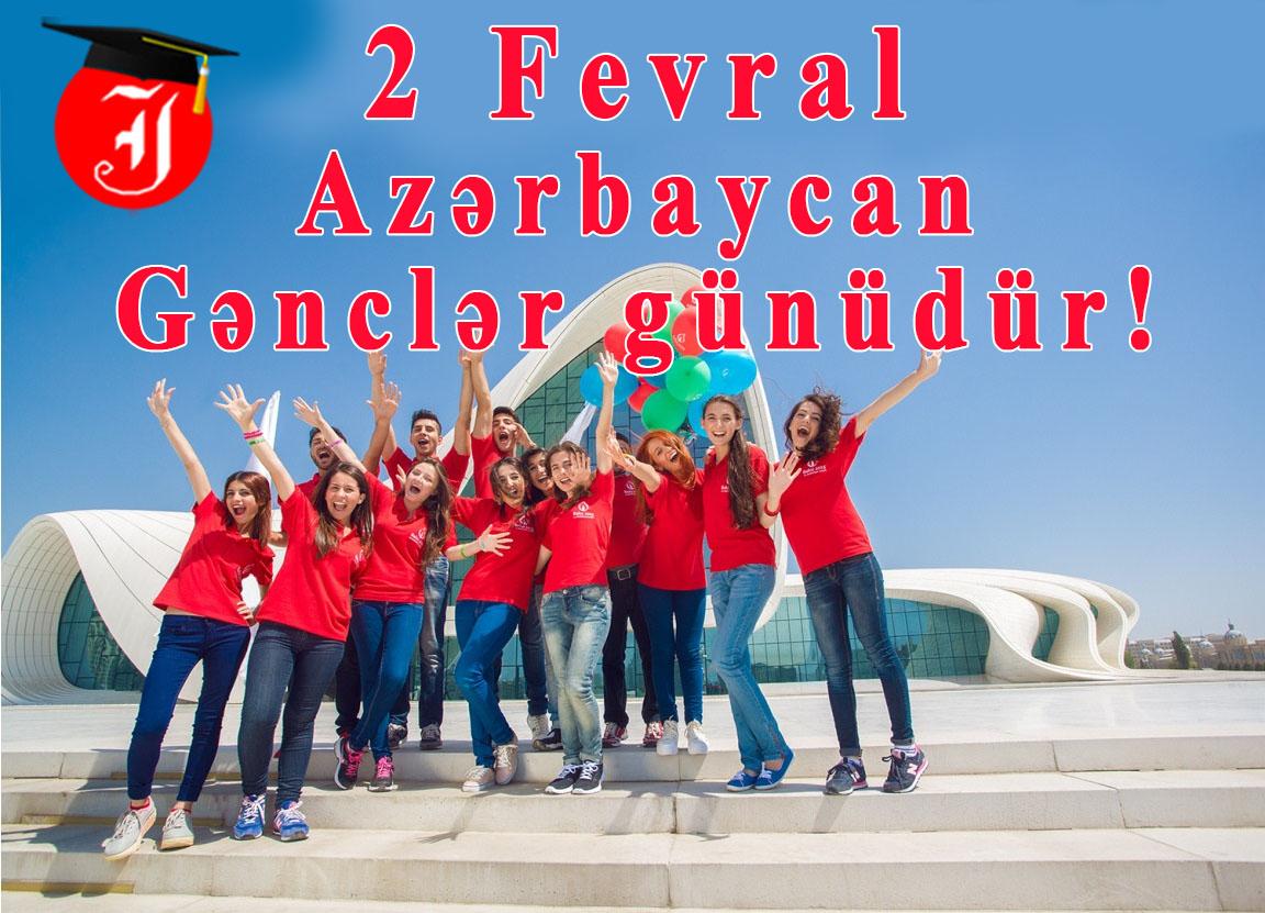 """2 fevral """"Ümumrespublika Gənclər Günü""""dür"""