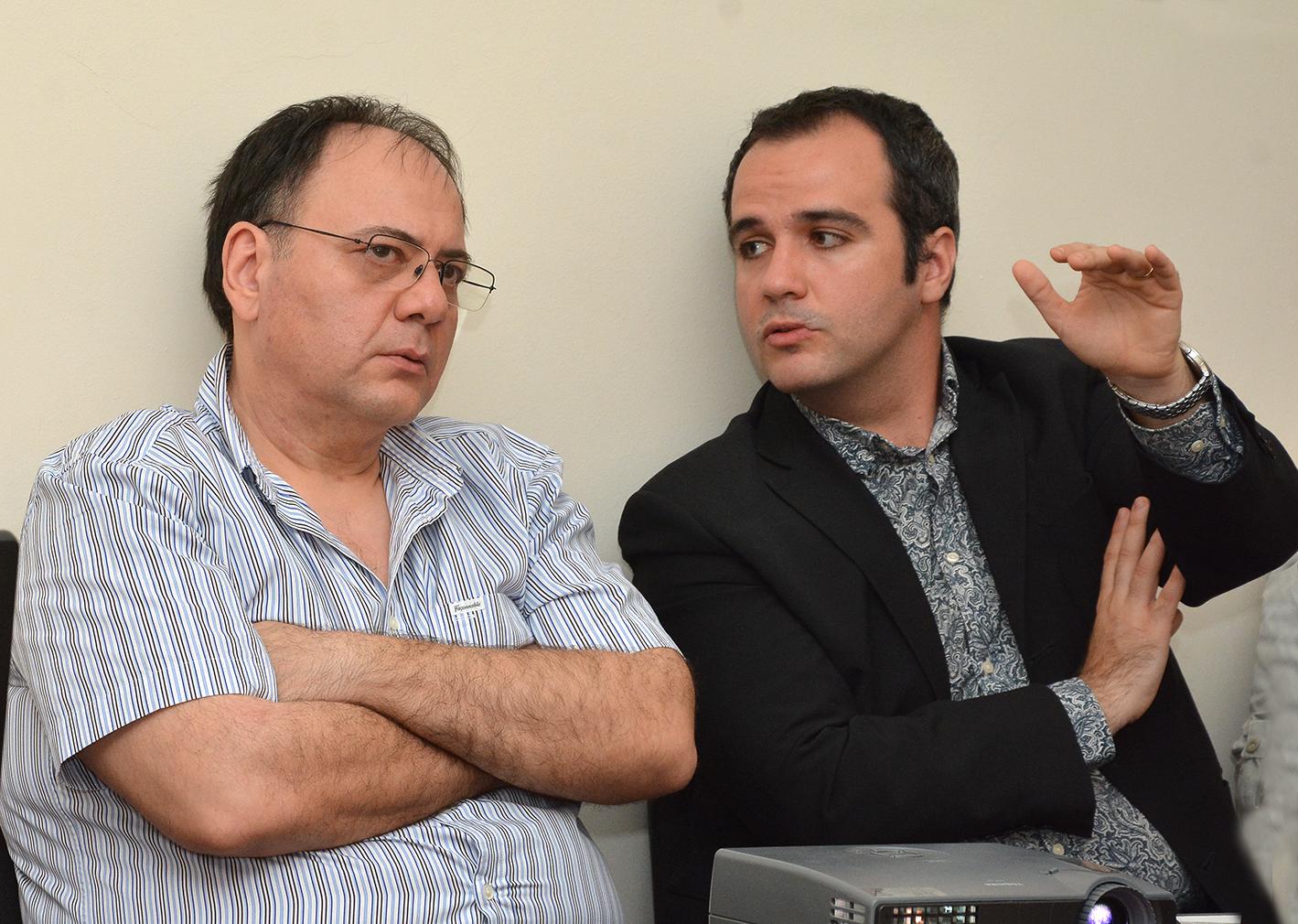 Rumın alimi Arxeologiya və Etnoqrafiya İnstitutunda  elmi seminar keçirib