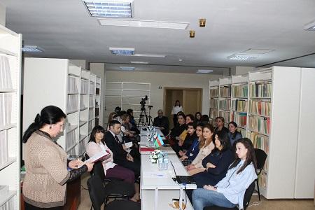 Azərbaycan yazıçılarının Qərbi Avropa xalqlarının dillərinə tərcümə edilmiş əsərləri təqdim olunub