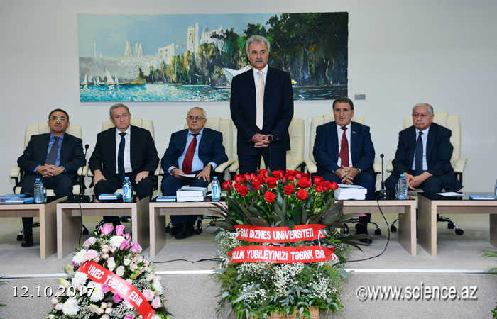 AMEA-nın müxbir üzvü Akif Musayevin 70 illik yubileyinə həsr olunan konfrans keçirilib