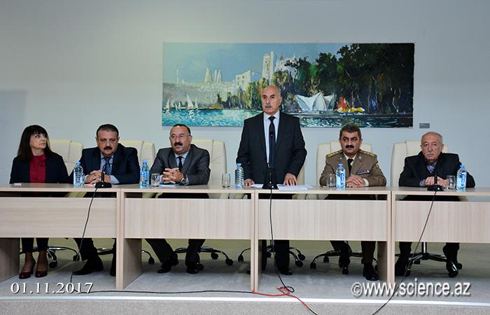 AMEA-da yanğın təhlükəsizliyinə dair seminar-məşğələ keçirilib