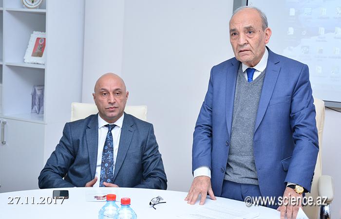 """""""M.P.Vaqif və Azərbaycan dili"""" mövzusunda elmi sessiya keçirilib"""
