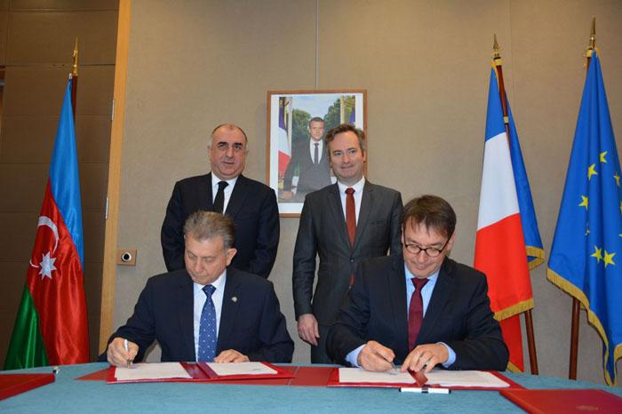 AMEA və Fransanın Montpellier Universiteti arasında əməkdaşlıq sazişi imzalanıb