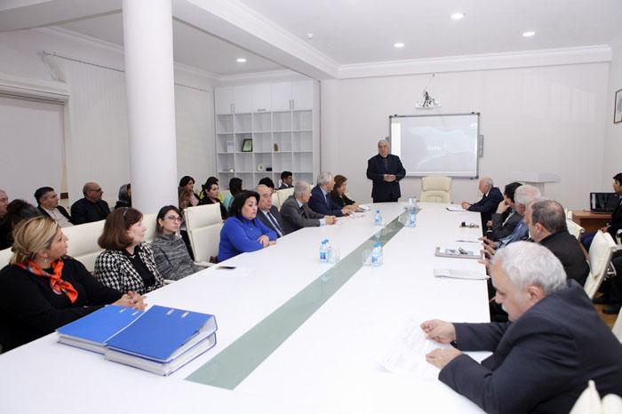 Ədəbiyyat İnstitutunda 31 mart - Azərbaycanlıların Soyqırımı Günü qeyd olunub