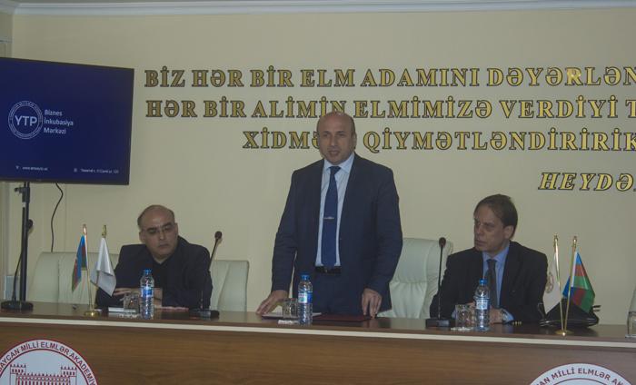 """Yüksək Texnologiyalar Parkında """"TRİZ"""" layihəsinin təqdimatı olub"""