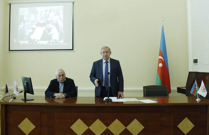 Görkəmli kimyaçı alim Murtuza Nağıyevin 110 illik yubileyi qeyd olunub
