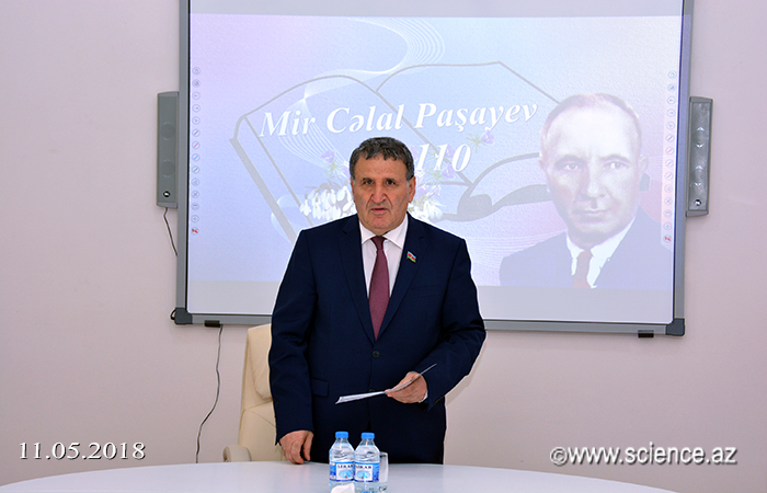Görkəmli yazıçı Mir Cəlal Paşayevin 110 illik yubileyi qeyd olunub