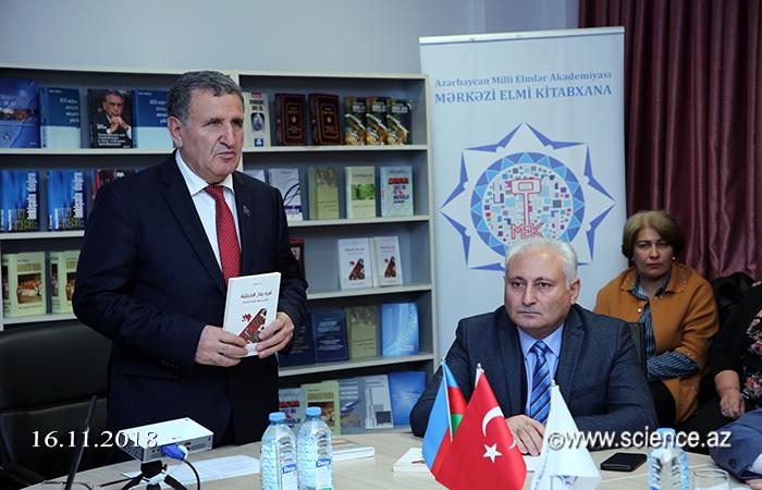 """""""Dağlıq Qarabağ: Məxəzlərdən oxunmuş tarix"""" kitabının təqdimatı keçirilib"""