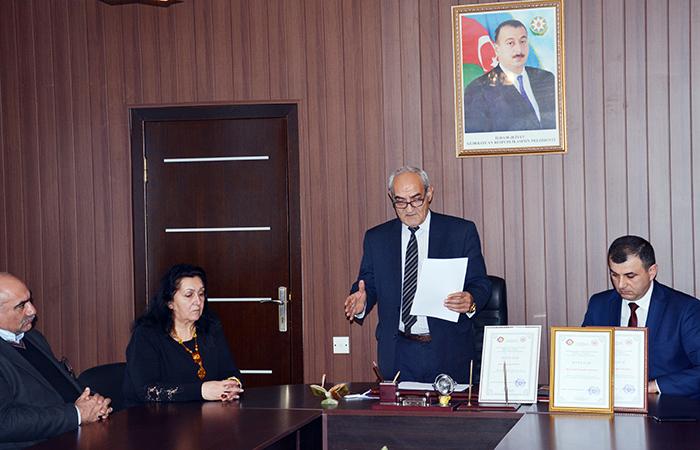 Radiasiya Problemləri İnstitutunda gənclər gününə həsr olunan tədbir keçirilib