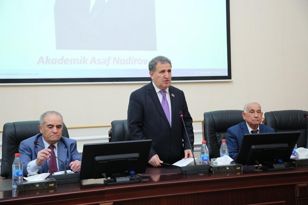 Akademik Asəf Nadirovun 90 illiyinə həsr olunan elmi konfrans keçirilib