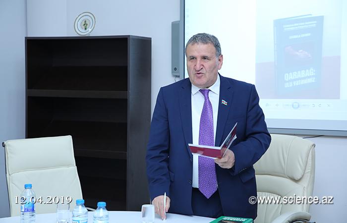 """""""Qarabağ: Ulu Vətənimiz"""" kitabının təqdimatı keçirilib"""