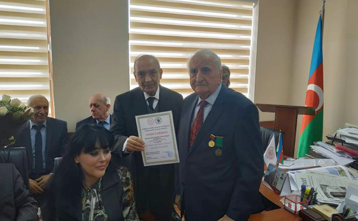 Professor Oruc Musayevin 90 illik yubileyi qeyd olunub