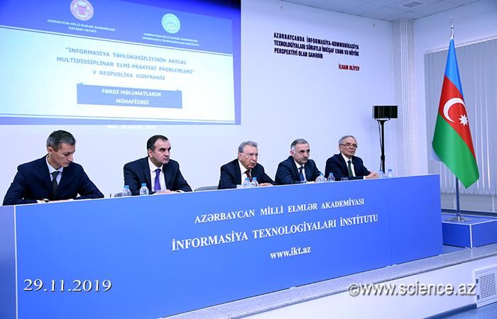 """""""İnformasiya təhlükəsizliyinin aktual multidissiplinar elmi-praktik problemləri"""" konfransı"""