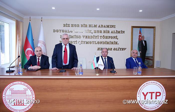 Akademik Əli Abbasov AMEA-nın Yüksək Texnologiyalar Parkının direktoru təyin olunub