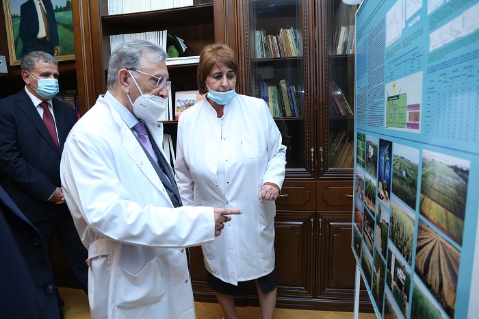 Akademik Ramiz Mehdiyev Molekulyar Biologiya və Biotexnologiyalar İnstitutunda aparılan tədqiqatlarla tanış olub
