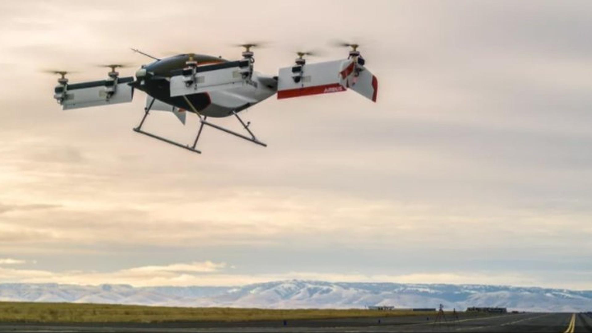 """""""Airbus""""ın uçan taksisi ilk uçuşunu həyata keçirib"""