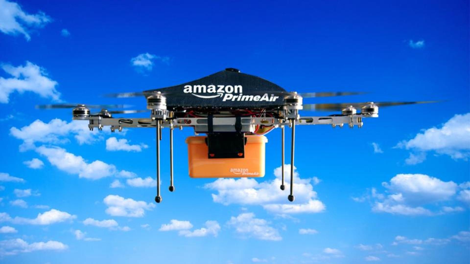 """""""Amazon"""" şirkətinin dronları qəza zamanı özü məhv olacaq"""