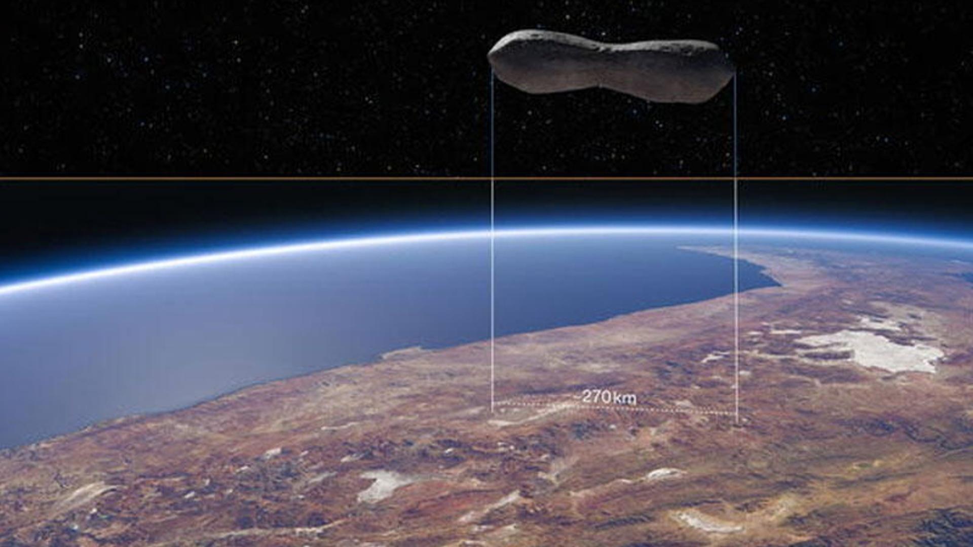 Qeyri-adi asteroidin ən yaxşı görüntüsü əldə edilib