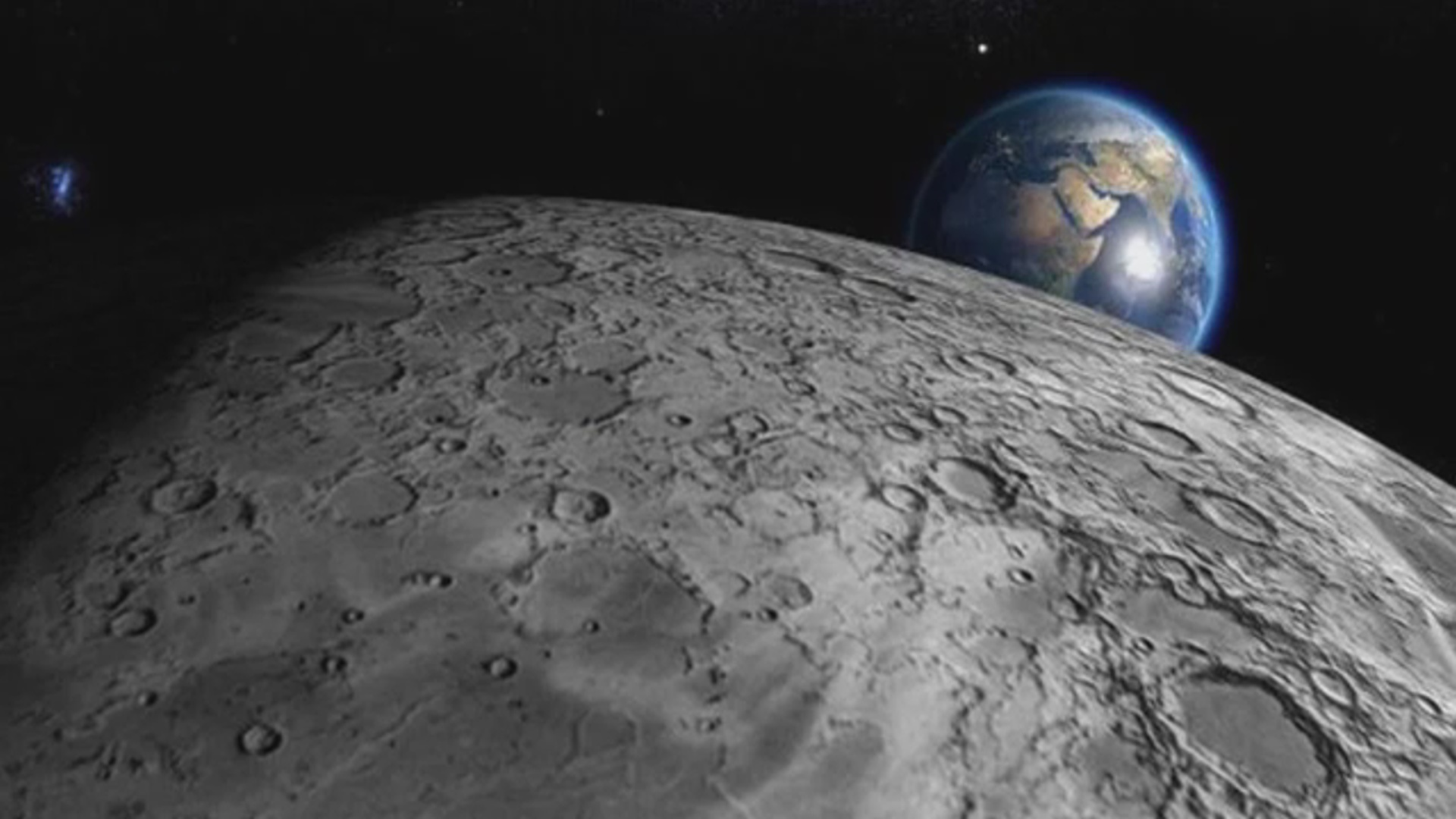 """""""Chang 4"""" kosmik vasitəsi ayın qaranlıq üzünə enib"""