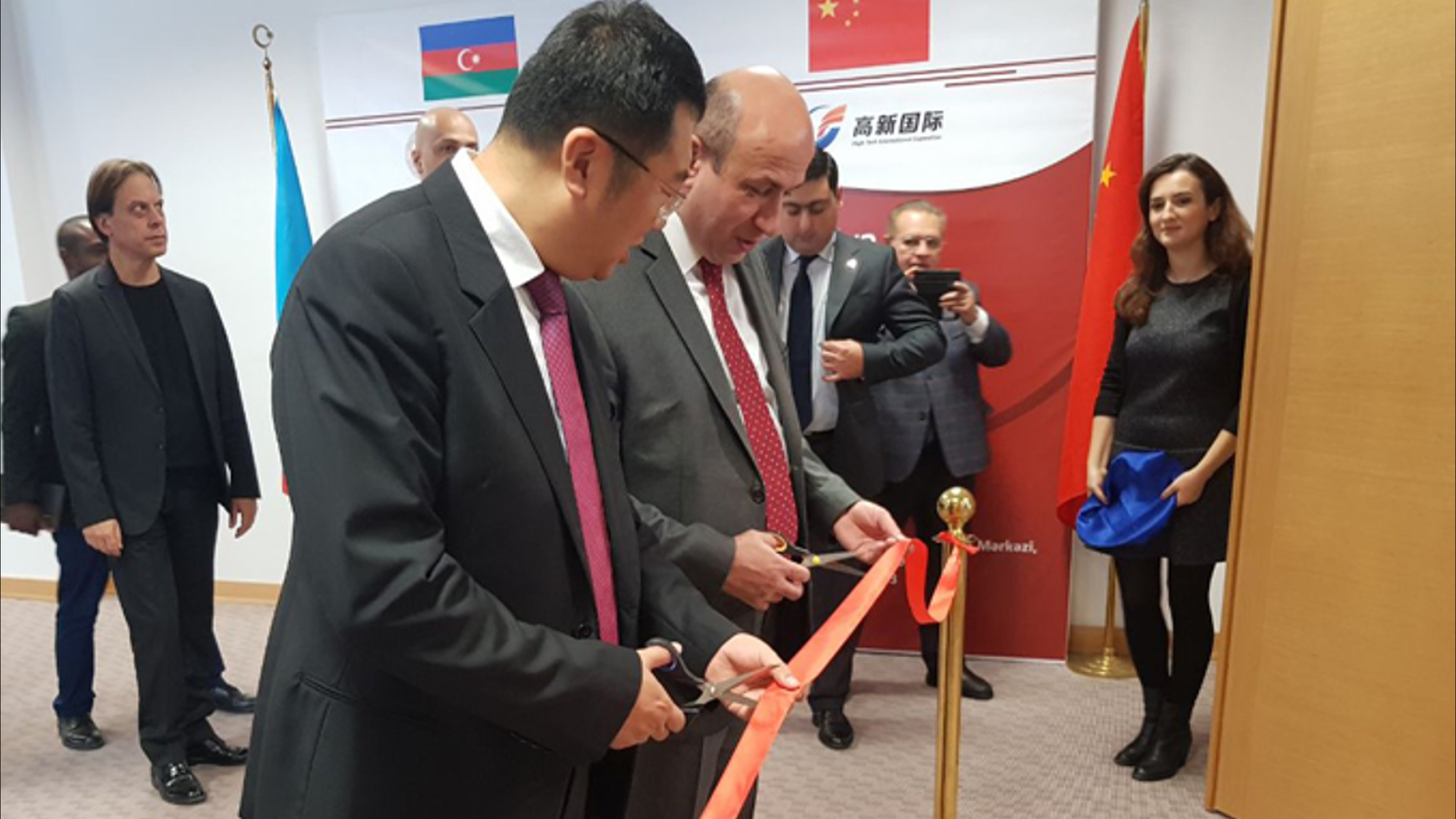 Azərbaycan-Çin Texnologiya Transferi Mərkəzi açıldı