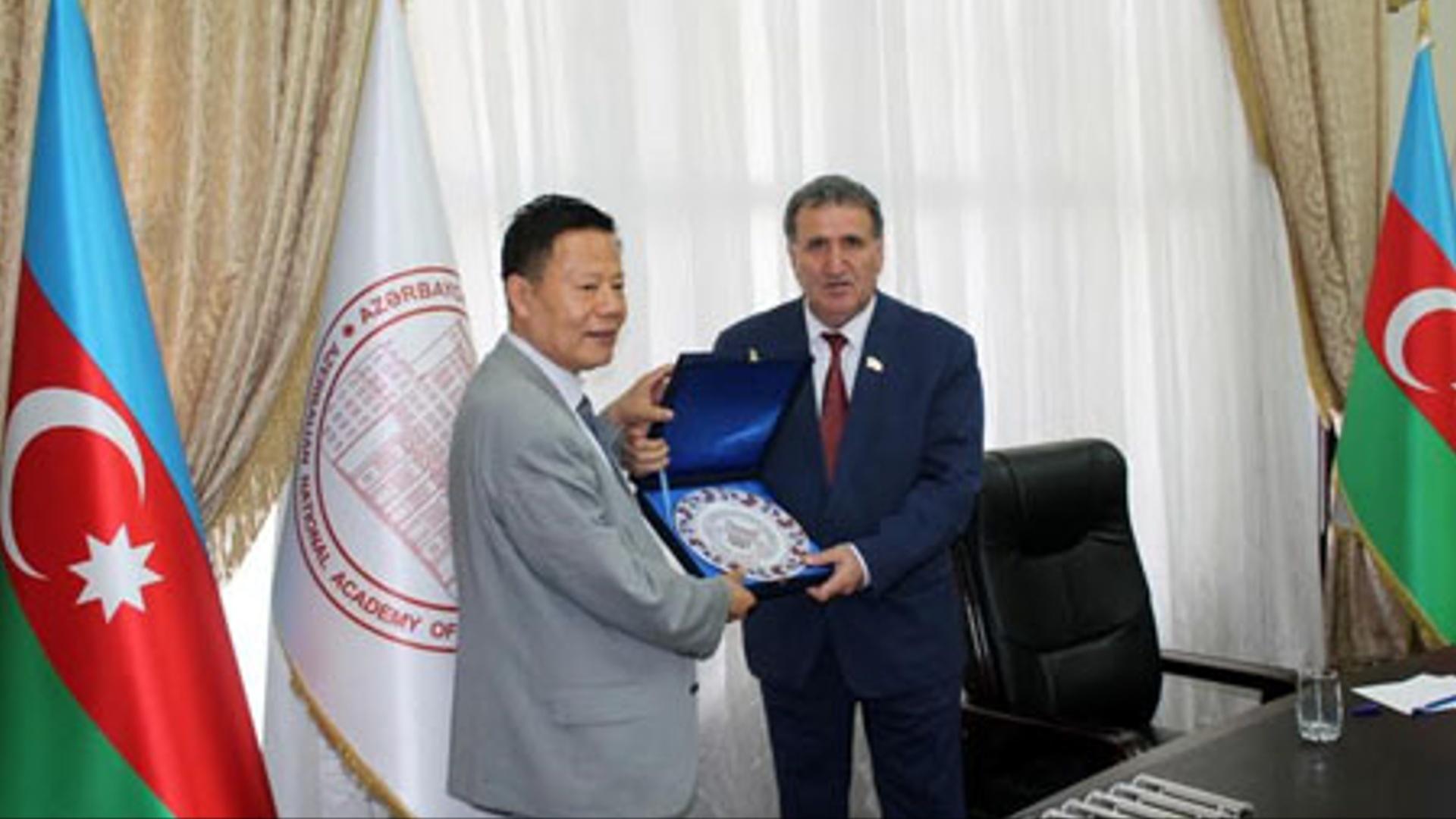 Azərbaycan-Çin elmi əlaqələri genişləndirilir