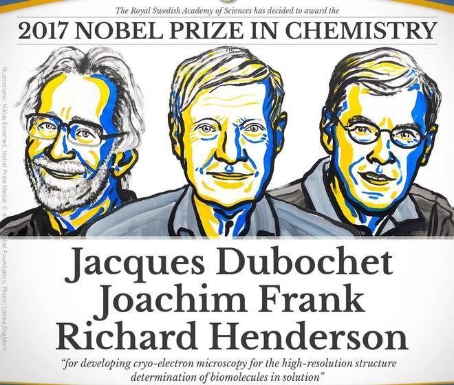 2017-ci ilin kimya sahəsi üzrə Nobel mükafatı bu elmi nəticəyə görə verilib