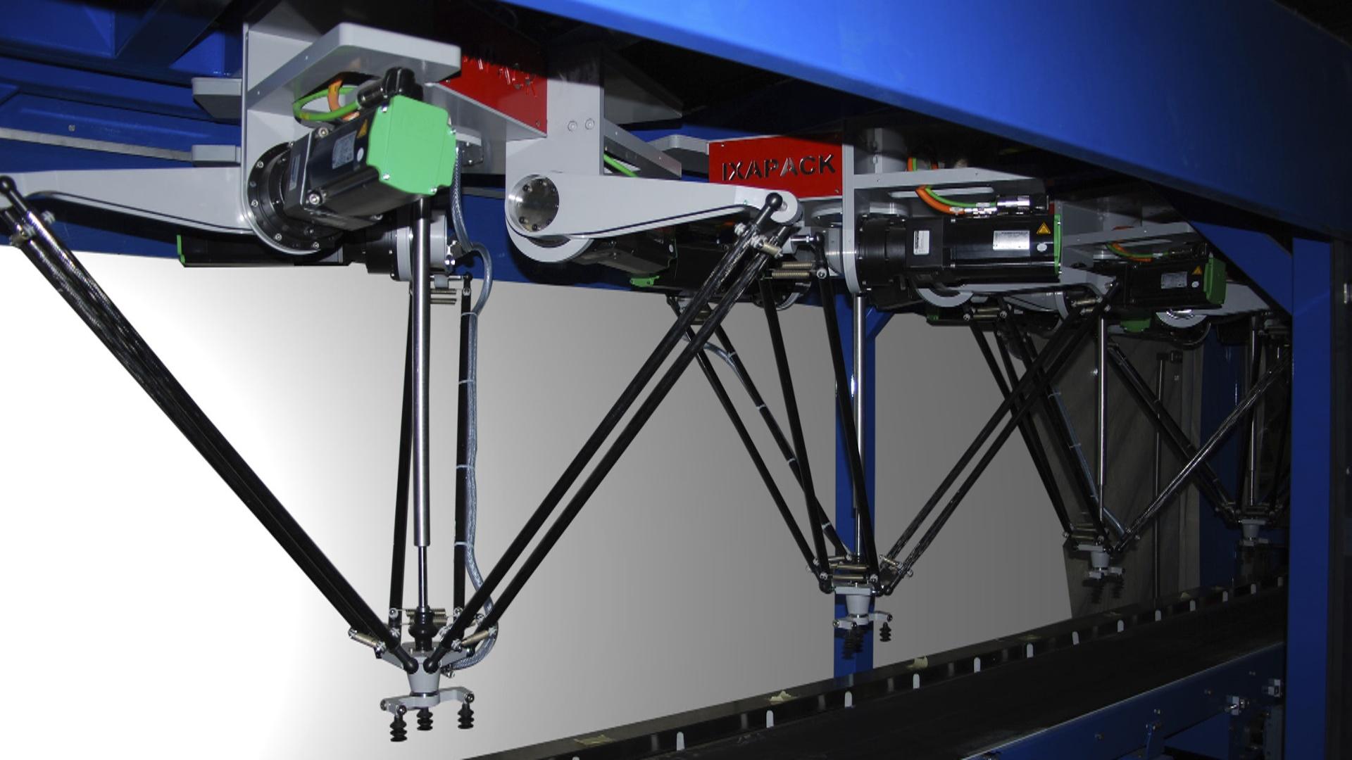 Delta-robot  saniyədə 75 hərəkət icra edir