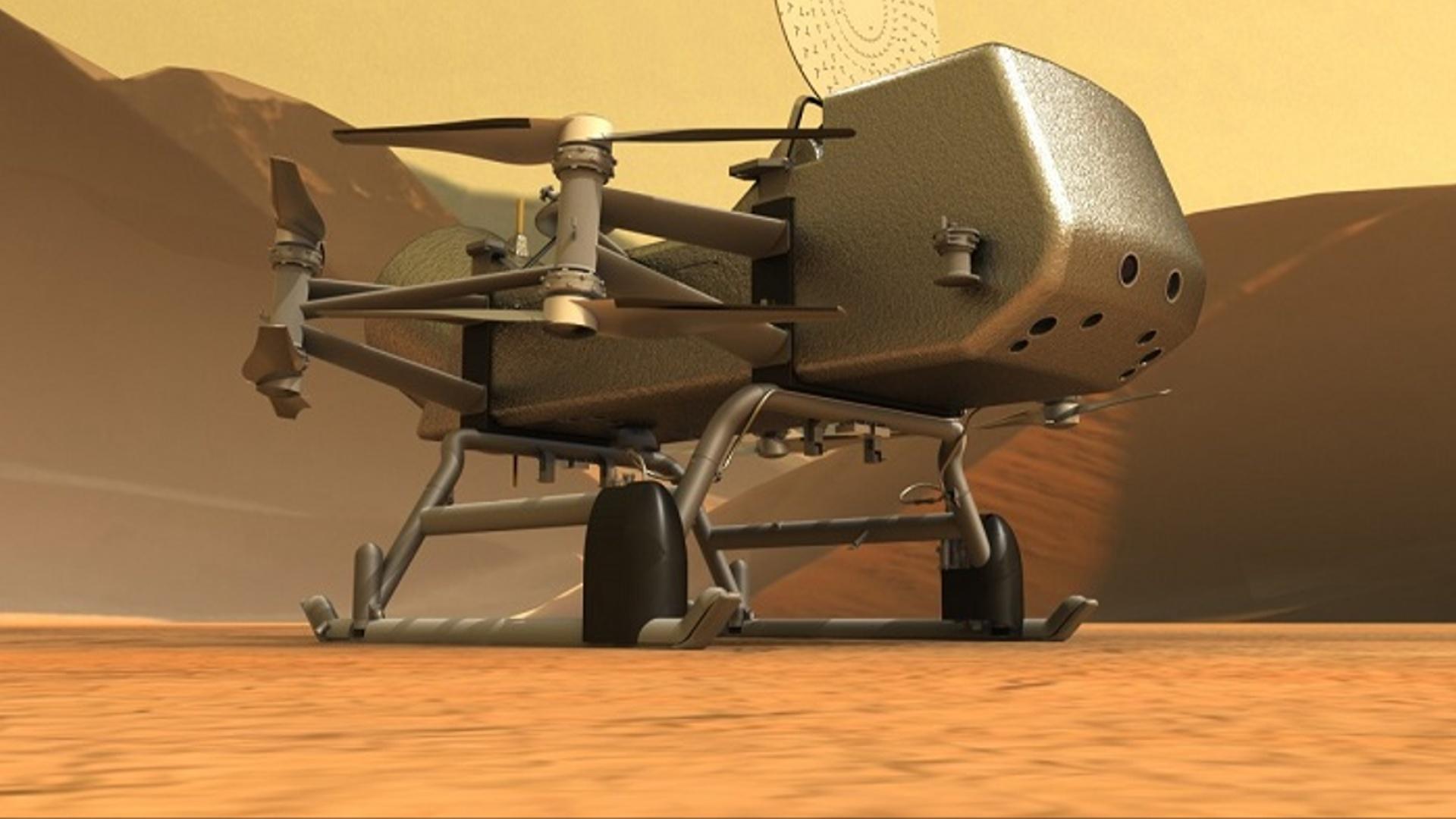 NASA növbəti onillikdə Saturnun peyki Titanda həyat növünün axtarışını reallaşdıracaq