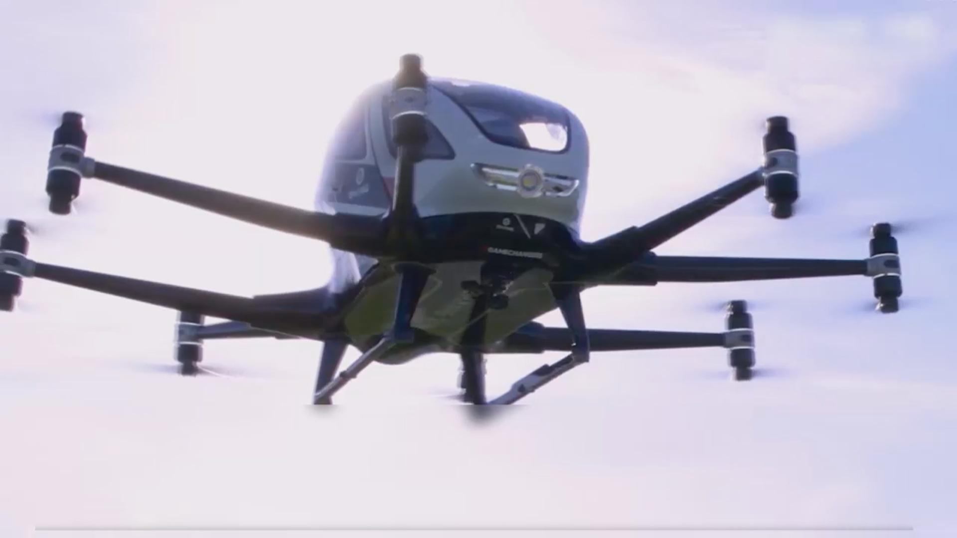 Sərnişin daşıyan dron istehsalına başlandı