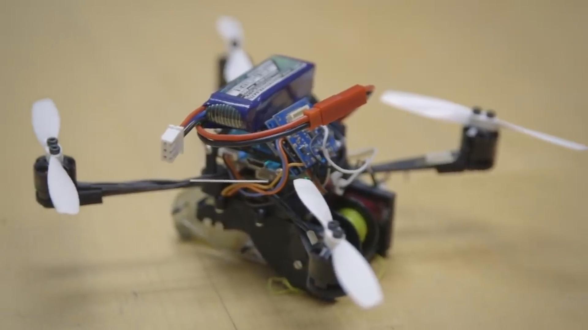 Kiçik dronlar irihəcmli yükləri daşıyacaq