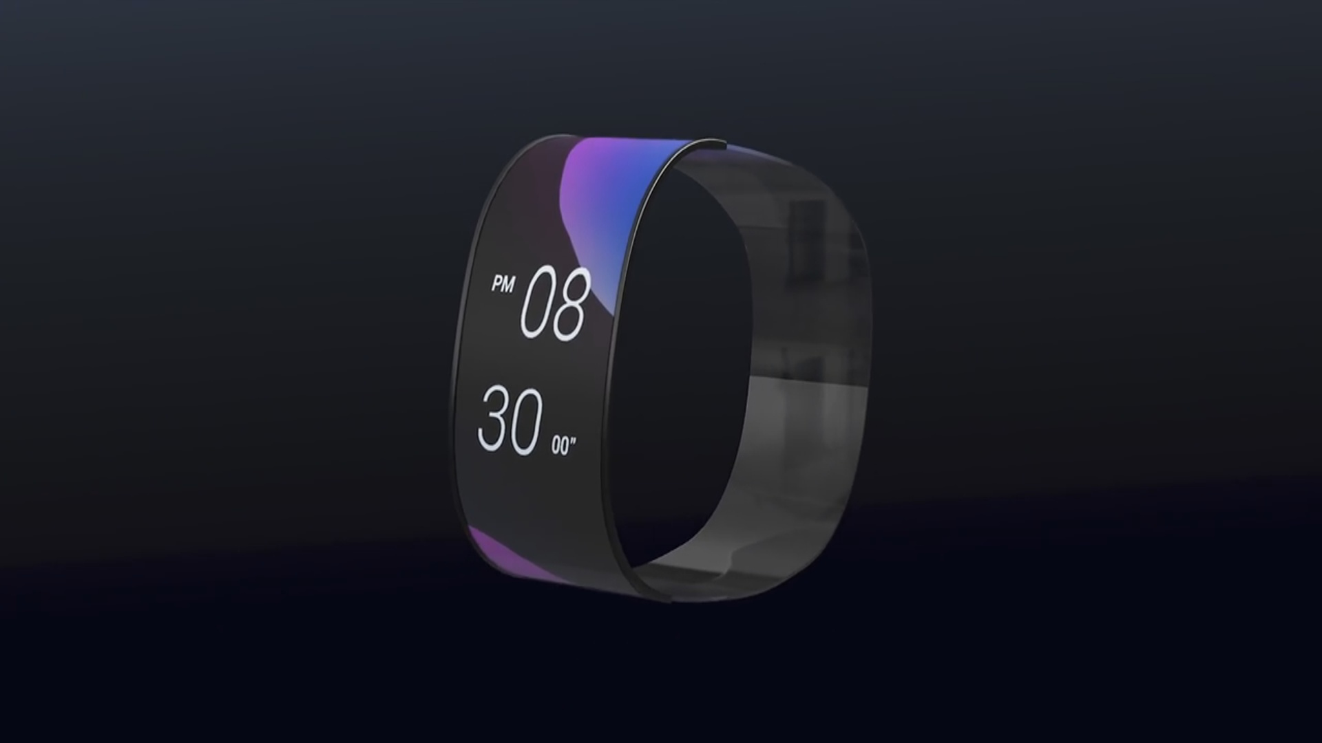Elastik ekrana malik saat çoxfunksiyalılığı ilə seçilir