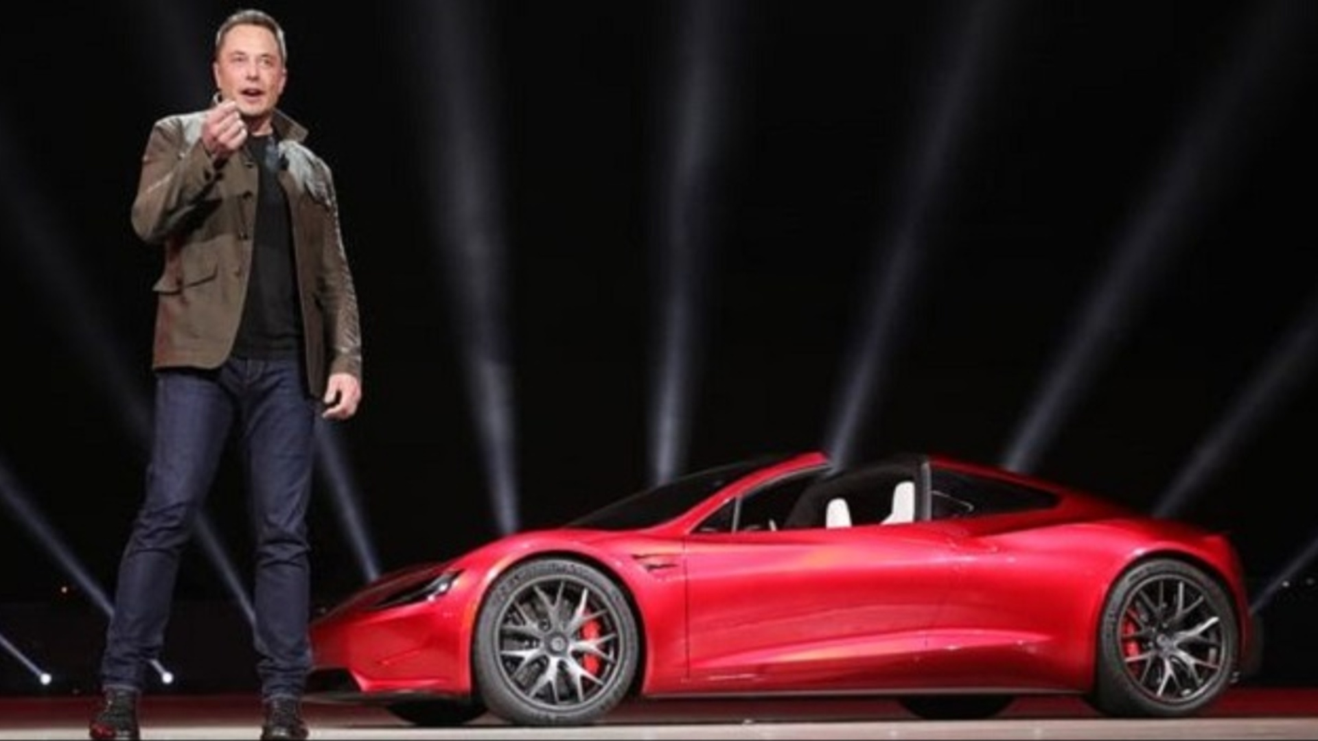 Elon Musk avtomobilini Marsa göndərəcək