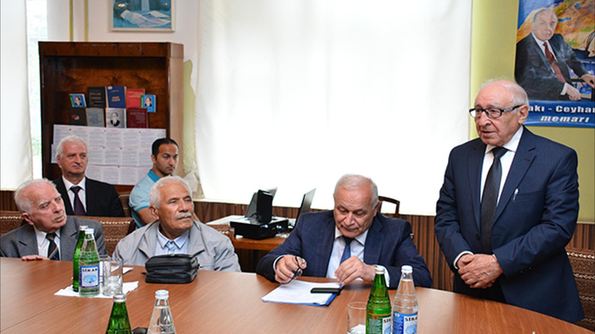 Görkəmli alim Əsgər Abdullayevin 90 illik yubileyinə həsr olunan tədbir keçirilib