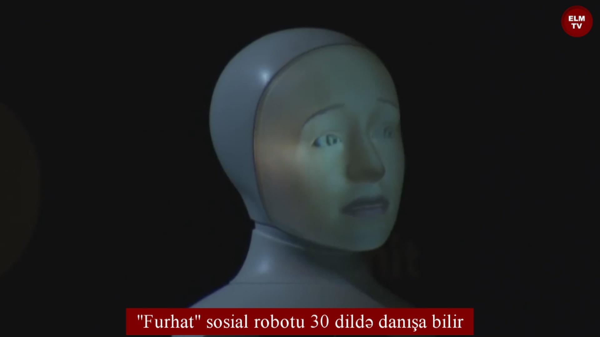 """""""Furhat"""" sosial robotu 30 dildə danışa bilir"""