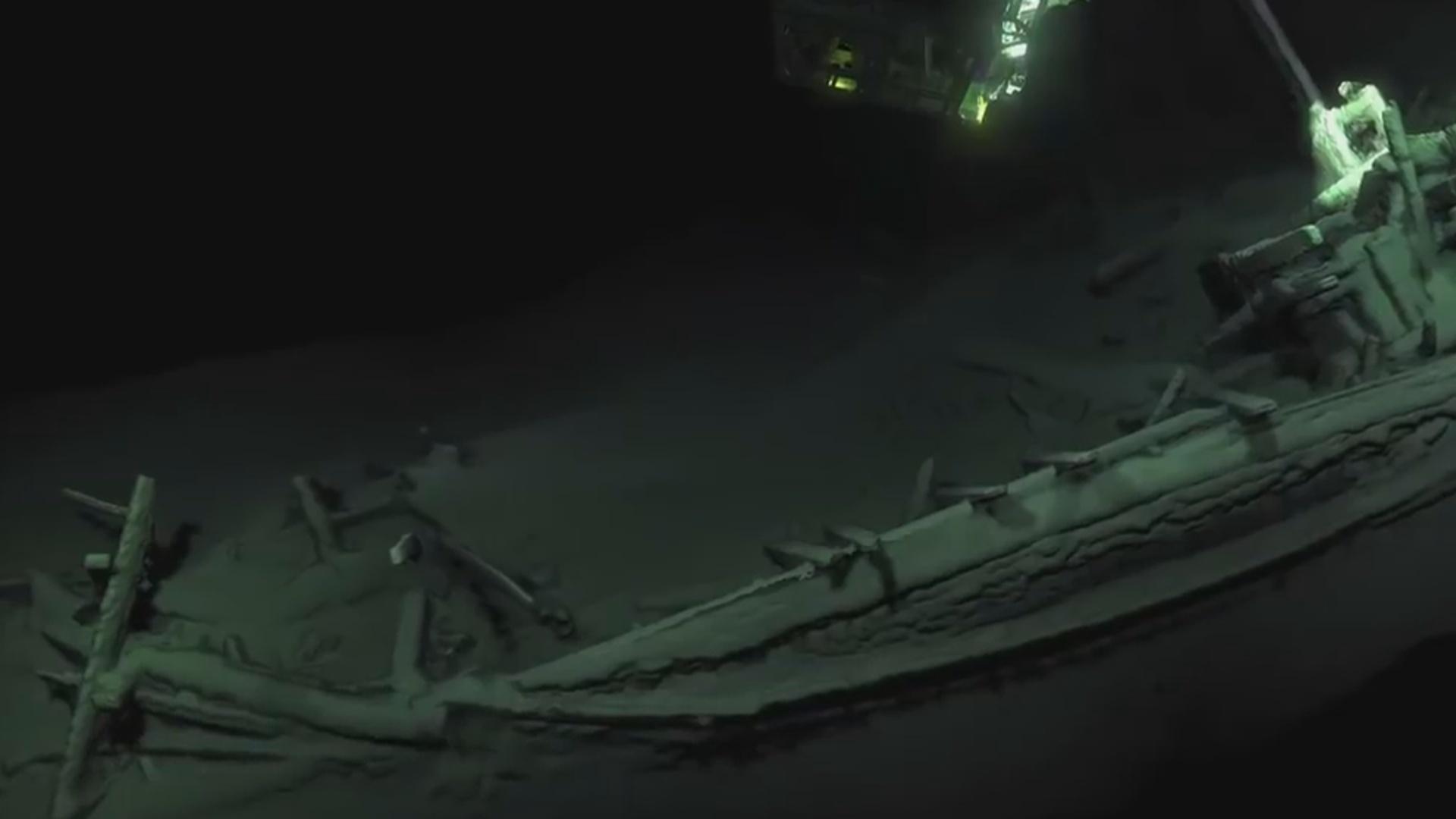 2400 il əvvəl batan gəmi tapılıb