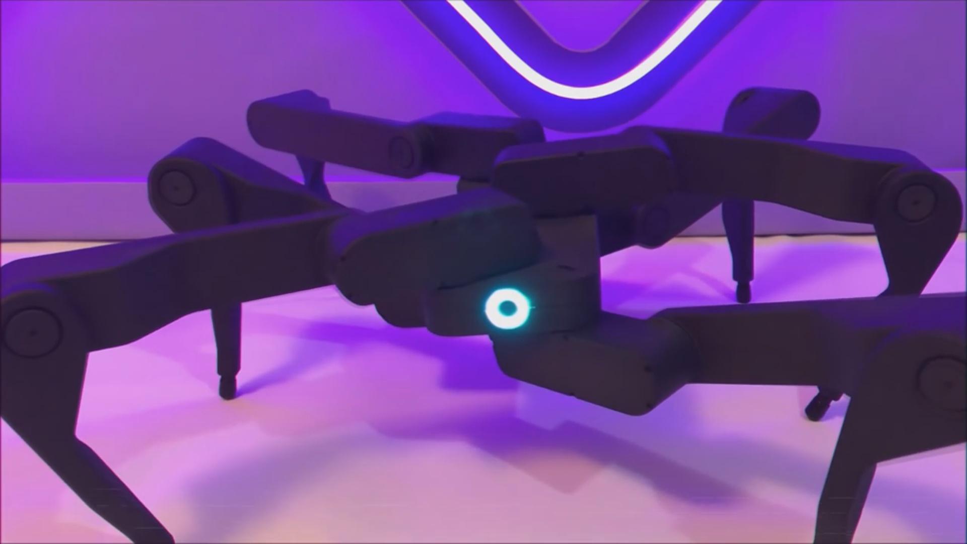 Robot-hörümçəyi məsafədən idarə etmək mümkündür