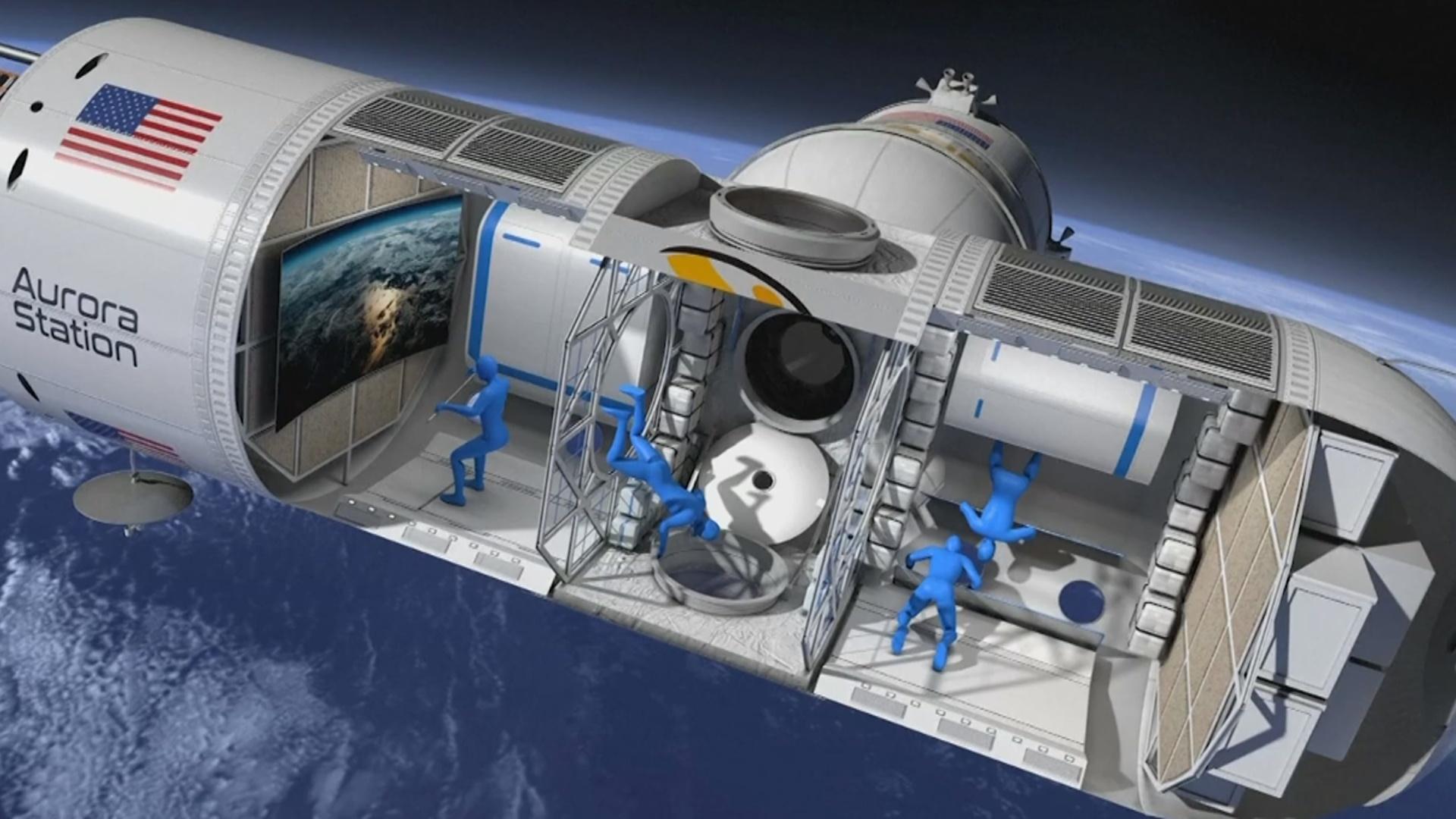 ABŞ kosmosda ilk otel açacaq