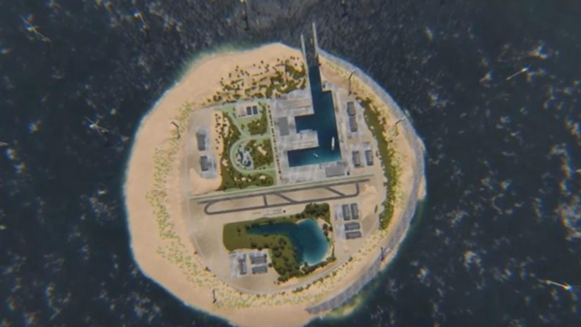 Süni ada 80 milyon insanın enerji ehtiyacını qarşılayacaq