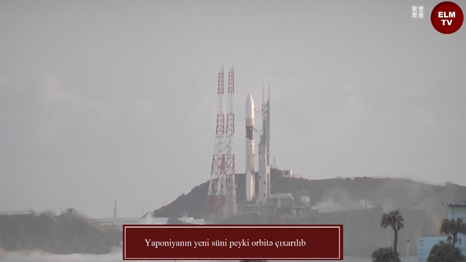 Yaponiyanın yeni süni peyki orbitə çıxarılıb