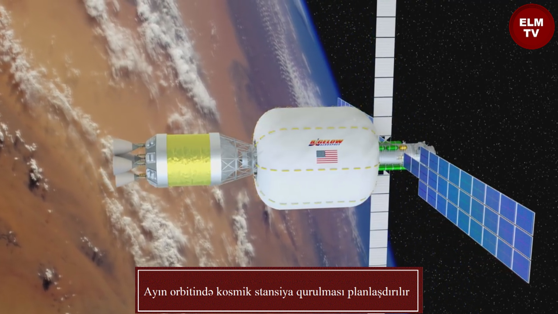 Ayın orbitində kosmik stansiya qurulması planlaşdırılır
