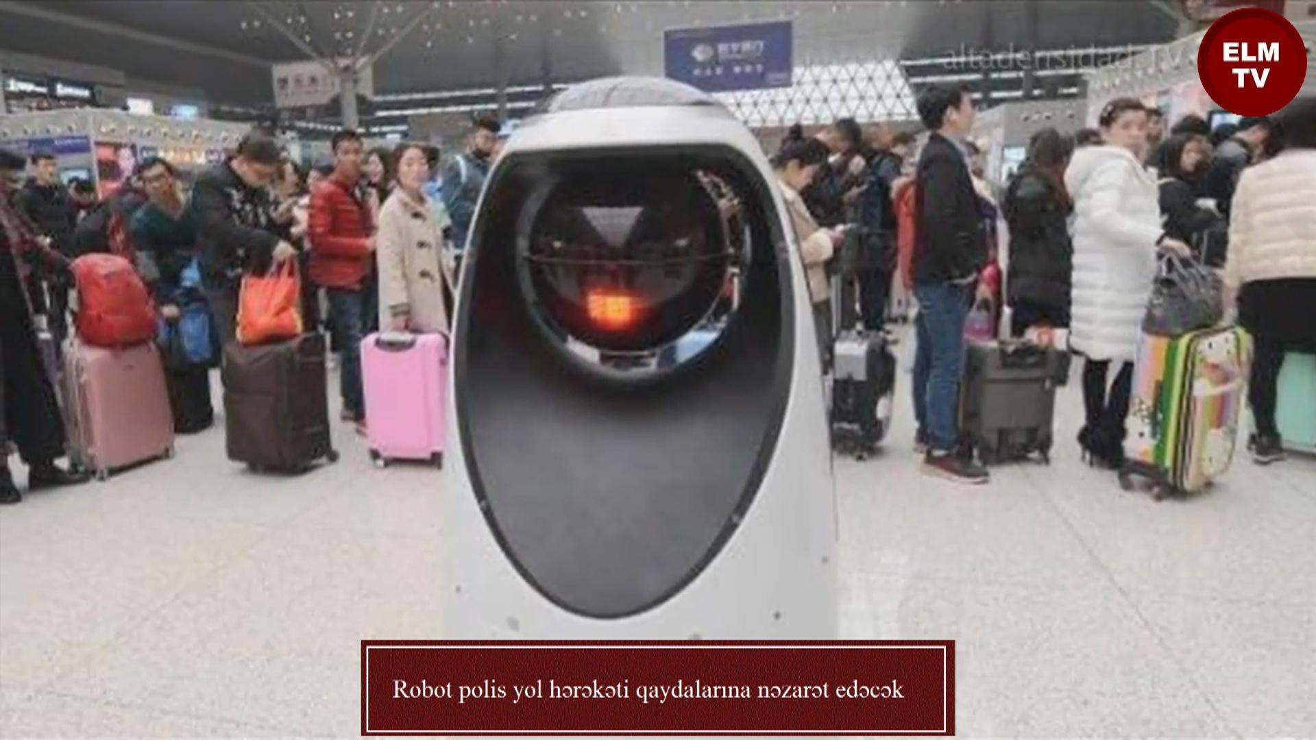 Robot polis yol hərəkəti qaydalarına nəzarət edəcək
