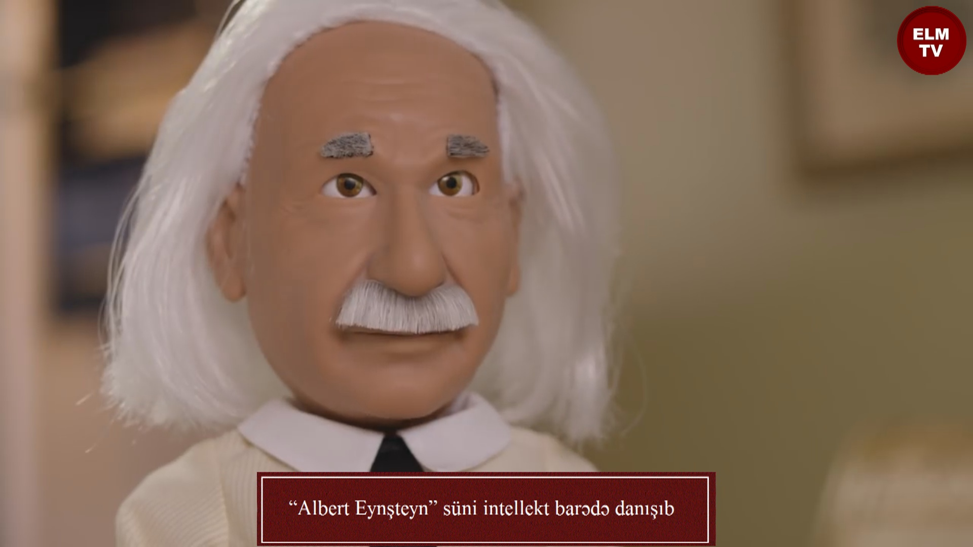 """""""Albert Eynşteyn"""" süni intellekt barədə danışıb"""
