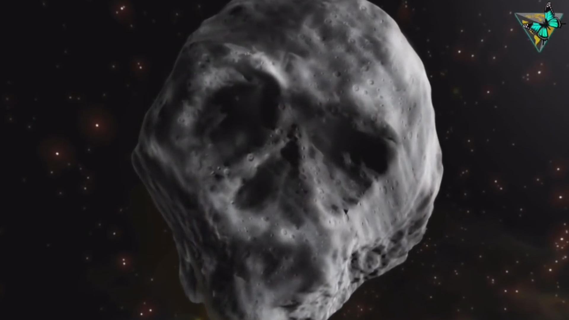 Skeleti  xatırladan asteroid Yer kürəsinin yaxınından keçəcək