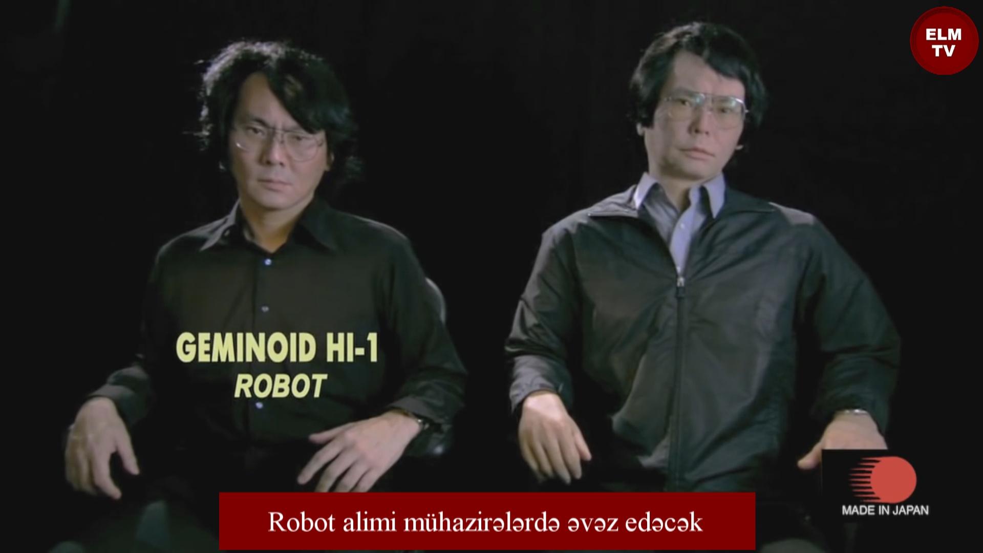 Robot alimi mühazirələrdə əvəz edəcək