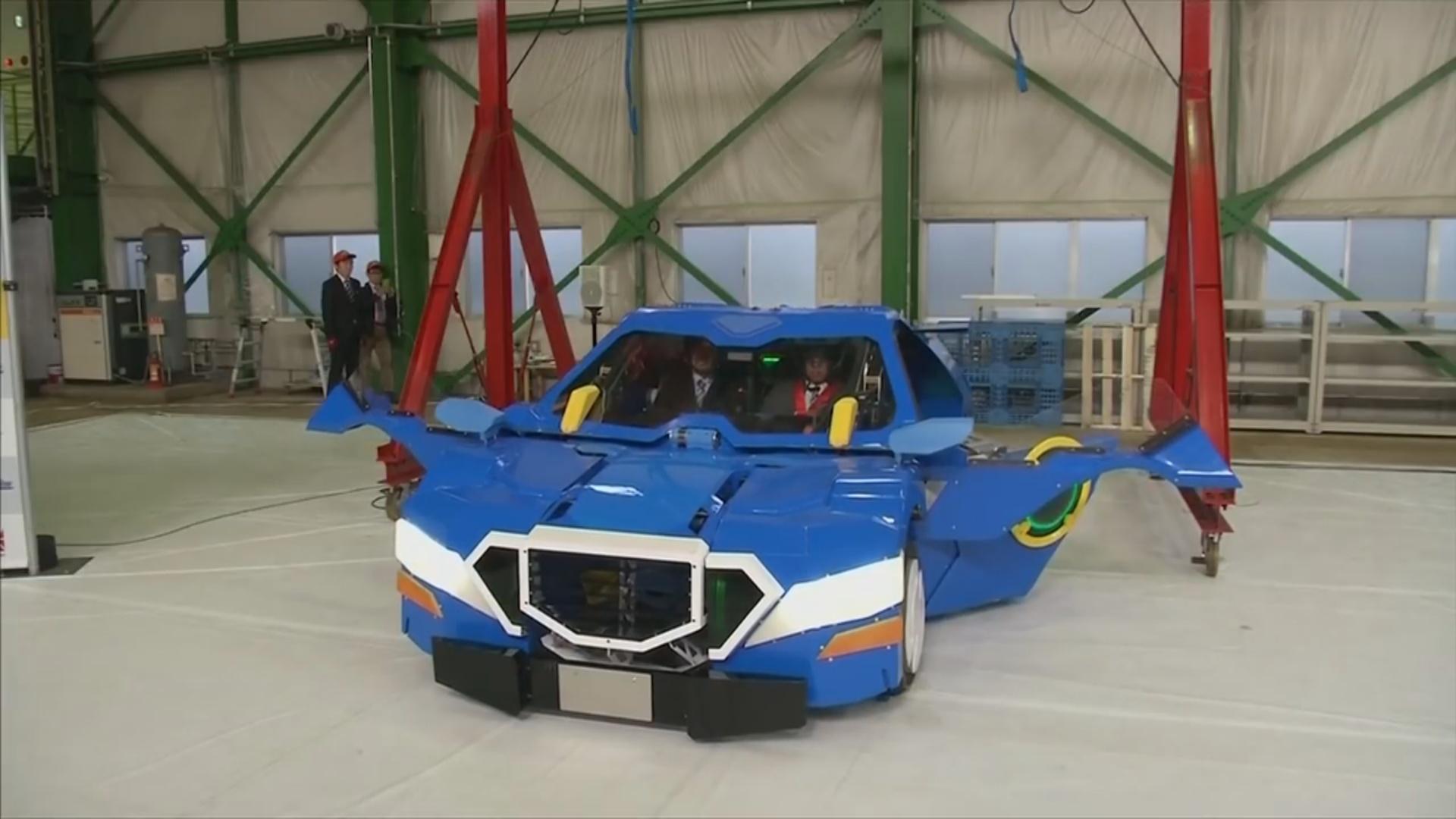 İkiayaqlı robot avtomobilə çevrilir