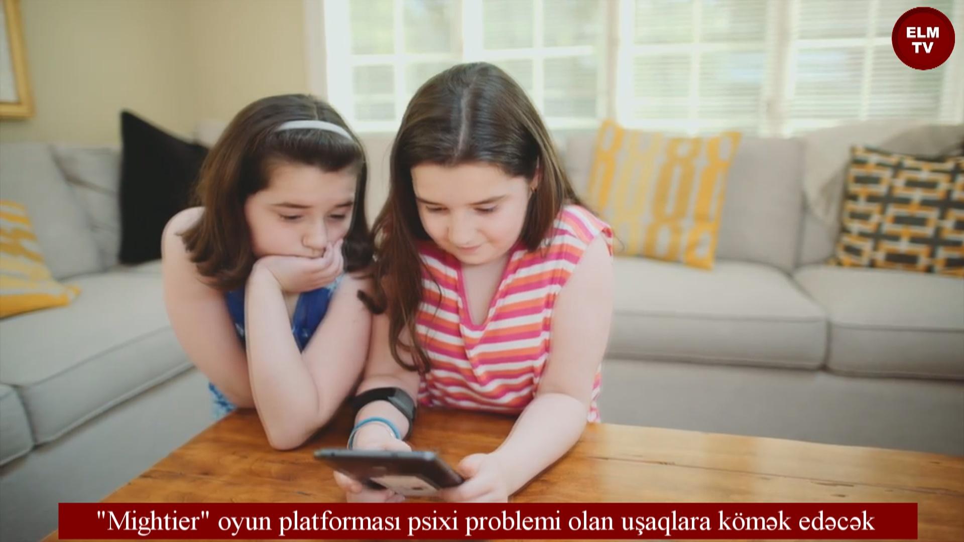 """""""Mightier""""oyun platforması psixi problemi olan uşaqlara kömək edəcək"""